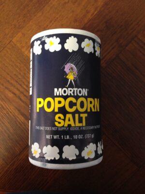 Popcorn, Salt
