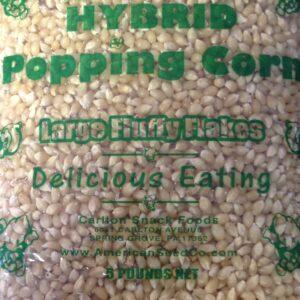 Popcorn, White