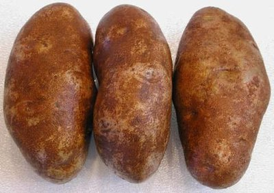 Potatoes, Russet Burbank