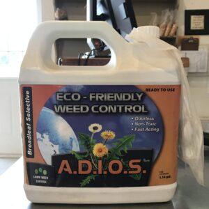 adios eco friendly weed control