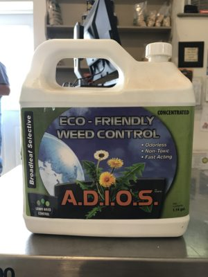 adios eco friendly weed control