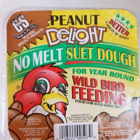 no melt suet peanut delight