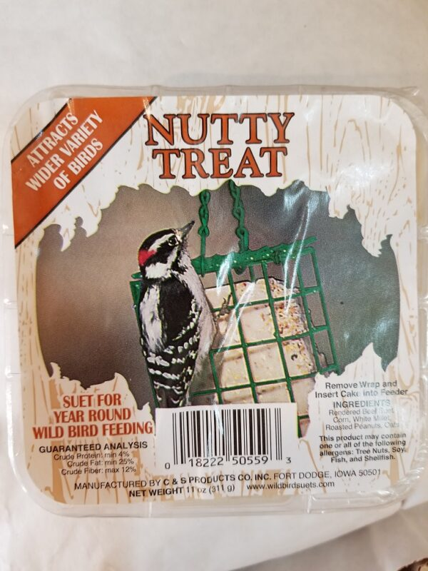 nutty treat suet